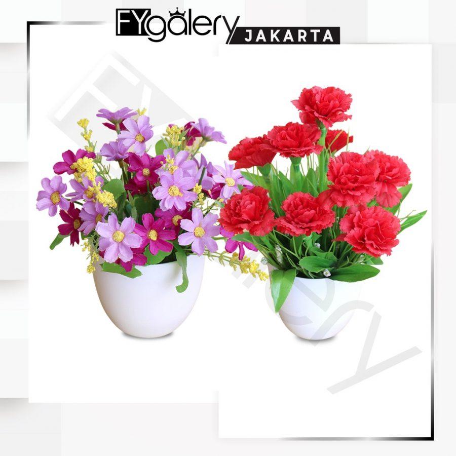 Pot Tanaman Bunga Dekorasi Rumah Tanaman Hias Plastik Murah Import 7020 A1 Accessories